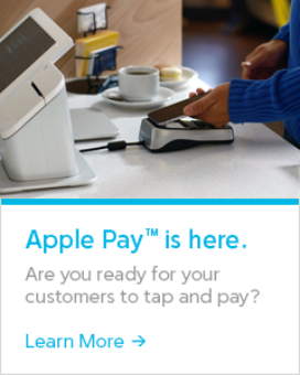 The Clover POS Accepts Apple Pay